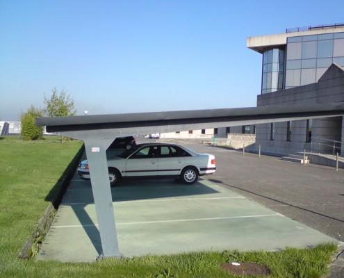EUROPA PREFABRI - Marquesina para parking Tipo B