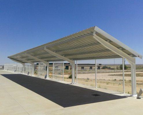 Marquesinas solares de parking en Toledo 04