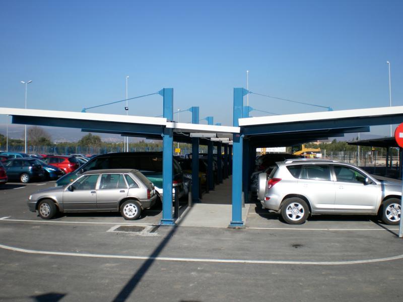 Et europa marquesina de parking para coches modelo for Parking de coches