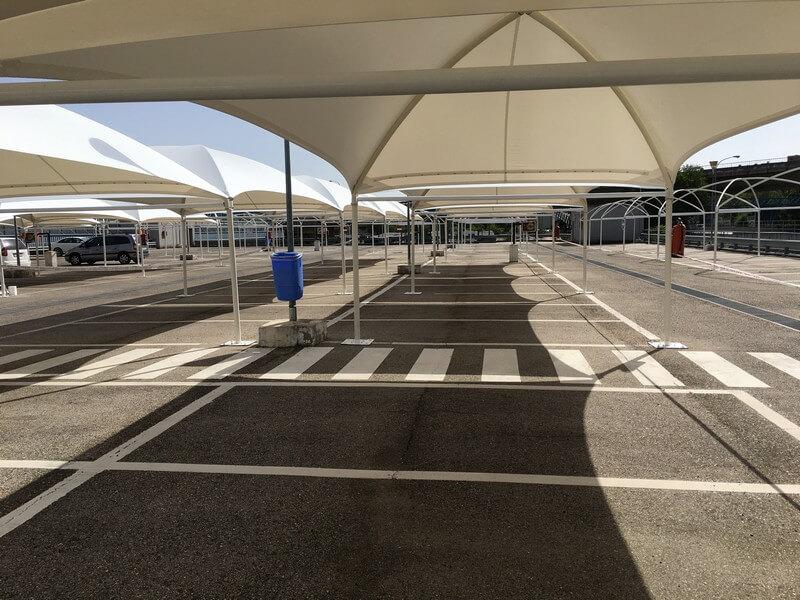 cubiertas textiles para aena en el aeropuerto de barajas 04