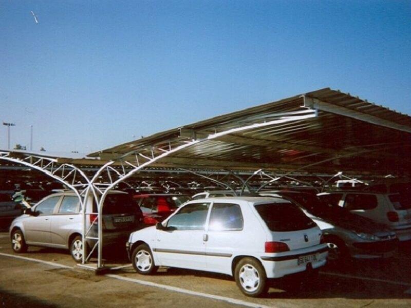 marquesinas de aparcamiento modelo celosia