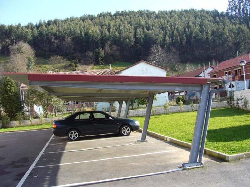 marquesinas de aparcamiento modelo ipe