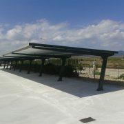 marquesinas de aparcamiento para destileria en zaragoza 04